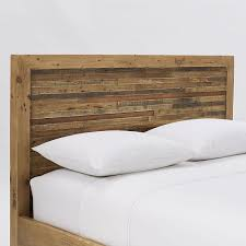 Natural Pine Bedroom Furniture by Bay Reclaimed Pine Bed Rustic Natural Westelm Lville C