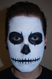 halloween makeup tutorial skeleton halloween skull face paint makeup tutorial