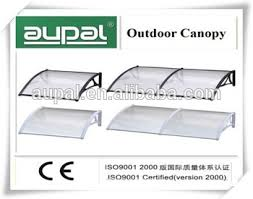 Awning Materials Large Polycarbonate Plastic Awning Materials Rain Door Canopy