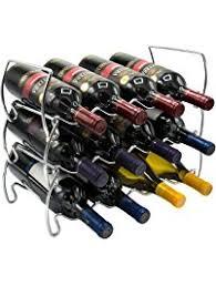 shop amazon com tabletop wine racks