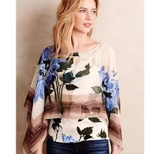 scarf blouse 85 anthropologie tops anthropologie tiny floral scarf