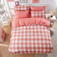 Twin Plaid Bedding by Online Get Cheap Red Plaid Comforter Aliexpress Com Alibaba Group