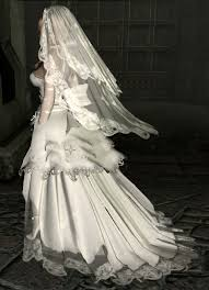 wedding dress skyrim skyrim mods highlights haku wedding dress cbbe bodyslide hdt