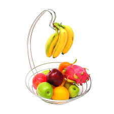 aliexpress com buy decorative fruit basket kitchen chrome