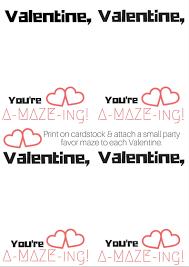 a maze ing sensory friendly valentine printable