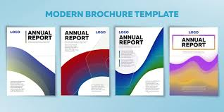 flyer graphic design layout set of annual reports business brochure flyer and cover design