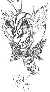 king candybug ink sketch by rinkusu001 on deviantart