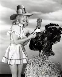 happy thanksgiving retro turkey and pilgrim pin ups retro