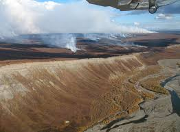 tundra research links tundra fires thawing permafrost uaf news and
