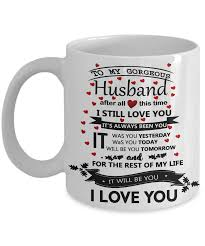 husband coffee mug great gift for world best husband large funny