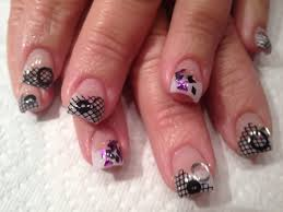 gel nail tips designs how you can do it at home pictures