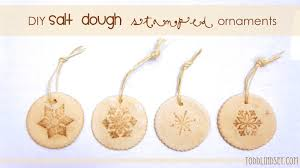 domer home diy salt dough sted ornaments