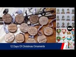 Singing M M Christmas Ornaments by 12 Days Of Christmas Ornaments Christmas Tree Ornament Sets