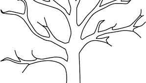coloring page of fall coloring page of leaves fall tree coloring page fall tree coloring