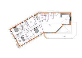 plan de maison en v plain pied 4 chambres modèles et plans de maisons modèle de plain pied inspiration sous