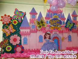 castle backdrop sofia the junnie arts and designs