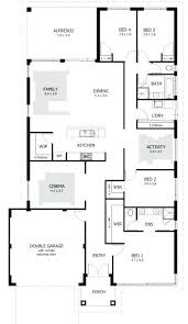 4 bedroom house plans one story simple 4 bedroom house plans stunning small 4 bedroom house plans