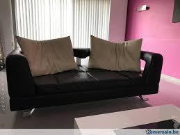 canapé cuir de buffle salon cuir buffle 1 er calite 3 2 formenti tres design a vendre