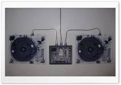 dj equipment lit up music hd wallpaper http www