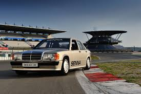 classic mercedes race cars senna u0027s mercedes 190e race car feature video evo