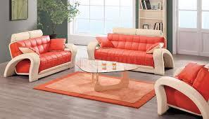 Leather Living Room Sets For Sale Surprising Orange Living Room Set All Dining Room