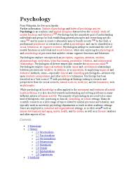 wikipedia based reader clinical psychology psychology