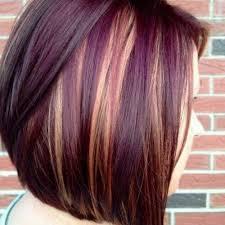 mahogany red hair with high lights blonde highlights on burgundy hair my hair styles i like
