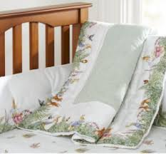 Pottery Barn Kids Baby Bedding Peter Rabbit Beatrix Potter Baby Nursery Crib Bedding Ensemble