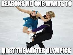 Figure Skating Memes - meme d from the headlines winter olympics host city the interrobang