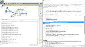 tutorial completo de cisco packet tracer 9 4 1 2 packet tracer skills integration challenge clipzui com