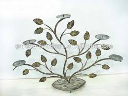 Shabby Chic Candle Sconces Shabby Chic Candle Holder Metal Leaves Tealight Stand Small