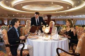 onboard dining review grand dining room insignia cruise advice