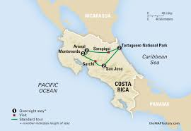 Map Of San Jose Costa Rica by Amazing Costa Rica Vacation For Jewish Singles Amazing Journeys