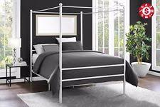 Iron Canopy Bed Frame Canopy Bed Frame Ebay