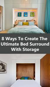 Bedroom Storage Bedroom Design Ideas 8 Ways To Create The Ultimate Bed Surround