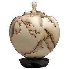 cremation urn orb raku cremation urn handmade ceramic artisan urn memorial