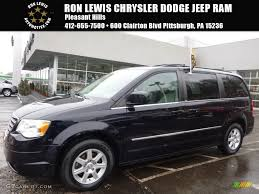 2010 blackberry pearl chrysler town u0026 country touring 110804234