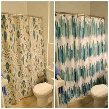 Shower Curtain Contemporary Bathroom Nice Abstract Ikat Shower Curtain For Contemporary
