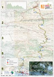 Route 40 Map by Karoo To Coast Mountain Bike Race In Support Of Lions