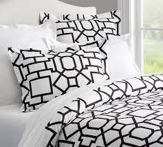 Black And White Toile Duvet Cover Fillmore Organic Duvet Cover U0026 Sham Pottery Barn