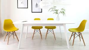 Dining Chair Eames Contemporary Yellow Dining Chair Dining Chair Yellow
