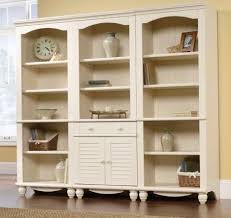 Antique White Bookcase With Doors Antique White Bookcase With Doors Design Ideas Home Interior