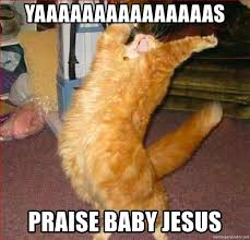 Baby Jesus Meme - jesus cat meme jesus cat by otakugamer123 meme center