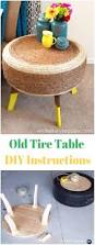 How To Make Tire Chairs Diy Recycled Old Tire Furniture Ideas U0026 Projects For Home