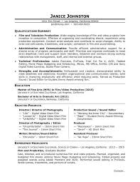 Video Resume Script Film Production Resume Template Learnhowtoloseweight Net
