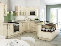 Kitchen Designs Unlimited by Broken White Wooden Kitchen Cabinet With Gray Counter Top And Sink