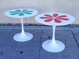 Green Earth Laminate Flooring Burke Tulip Tables With Laminate Flower Motif Inspired By Eero