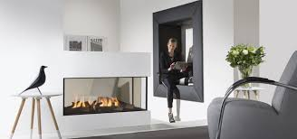 lucius 100 by element4 peninsula fireplace direct vent gas