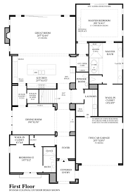 great room floor plans toll brothers at robertson ranch the terraces the sanabria