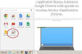 bureau distance chrome tutoriel dupliquer écran de pc sur box ou mini pc android